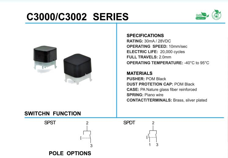 Key Switches_C3000/C3002 Series
