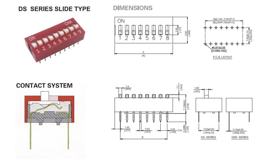 Dip Switch_DS Series
