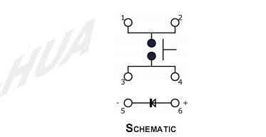 4.9x4.9X2.0  LED Tact Switch_C3003 SERIES