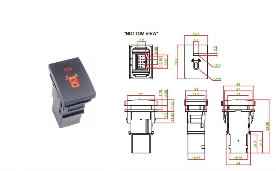 LED Push Button Switch_PS023 SERIES