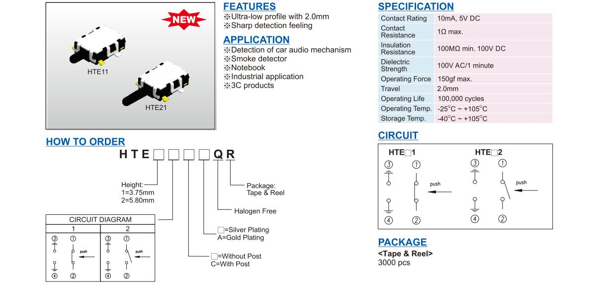 Detector Switch-HTE Series