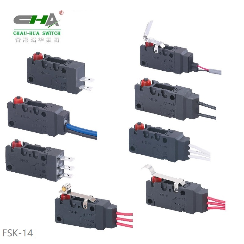 Waterproof Micro Switch FSK-14 Series