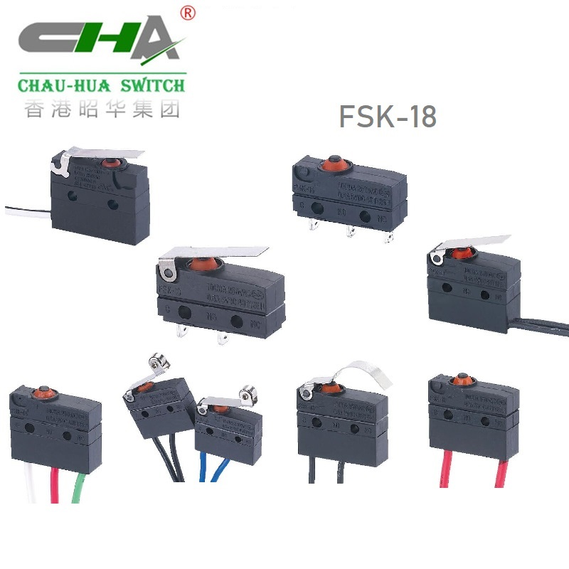 Waterproof Micro Switch FSK-18 Series