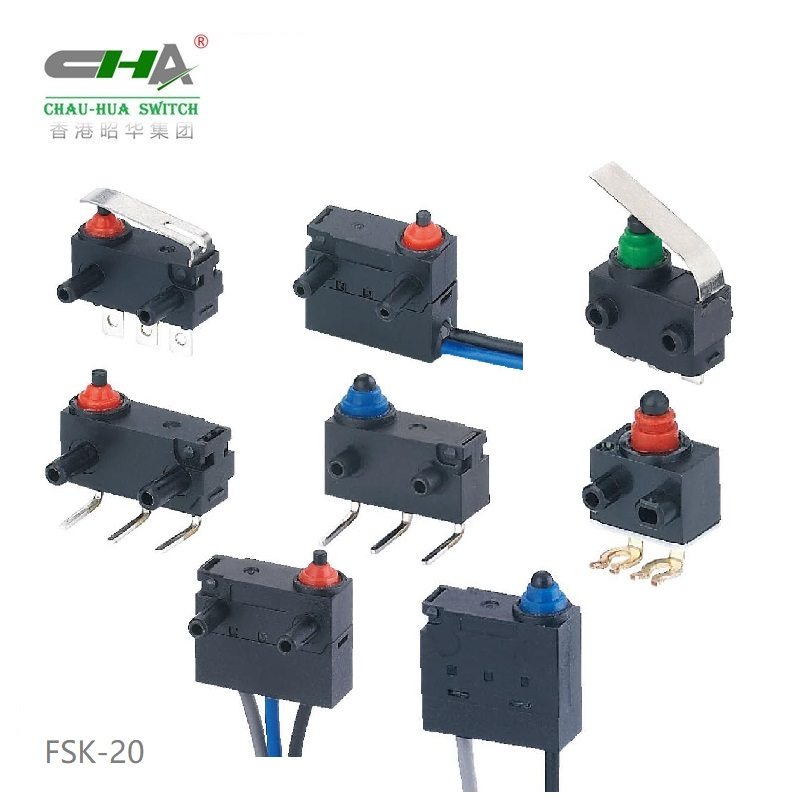 Waterproof Micro Switch FSK-20 Series